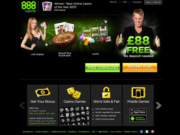 casino 888 canada